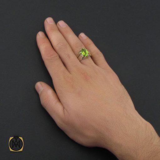انگشتر زبرجد مردانه دست ساز – کد ۱۰۲۶۸