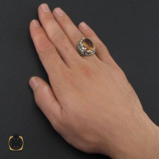 انگشتر زولتنایت درشت مردانه - کد 10270 - 5 71 510x510