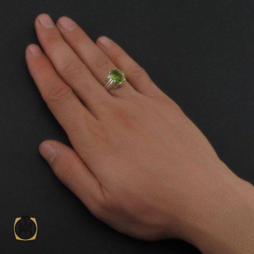 انگشتر زبرجد مردانه – کد ۱۰۲۹۶
