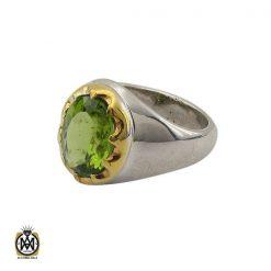 انگشتر زبرجد خوش رنگ مردانه - کد 8914 - 1 106 247x247