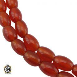 تسبیح 33 دانه عقیق یمن خوش رنگ و ارزشمند - کد 4305 - 1 151 247x247