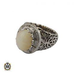 انگشتر اپال خوش رنگ مردانه هنر دست استاد شرفیان - کد 8890 - 1 162 247x247