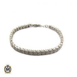 دستبند نقره طرح آیدا زنانه - کد 1091 - 1 230 247x247