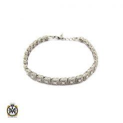 دستبند نقره طرح آیلا زنانه - کد 1092 - 1 231 247x247