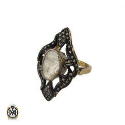 انگشتر الماس اصل طرح آترین زنانه - کد 2180