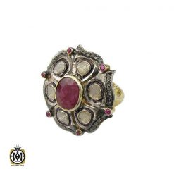 انگشتر الماس اصل طرح آرنیکا زنانه - کد 2181