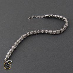 دستبند نقره طرح آیلا زنانه - کد 1092 - 2 231 247x247