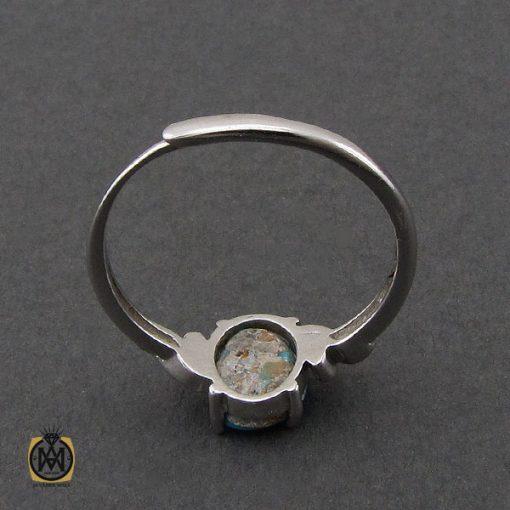 انگشتر فیروزه نیشابوری طرح دیبا زنانه - کد 2208 - 3 171 510x510