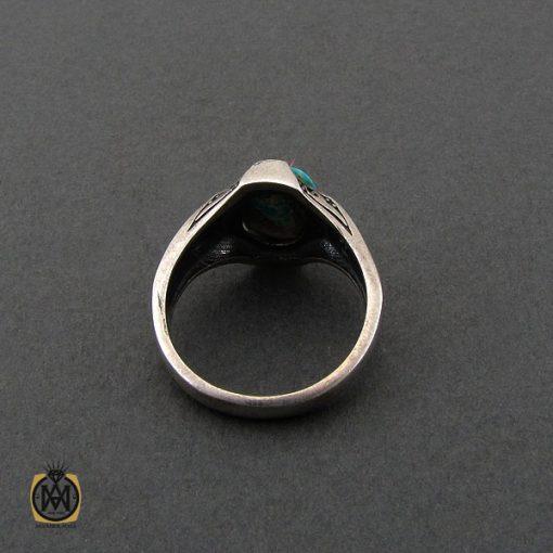 انگشتر فیروزه نیشابوری و مارکازیت مردانه - کد 10482 - 3 211 510x510