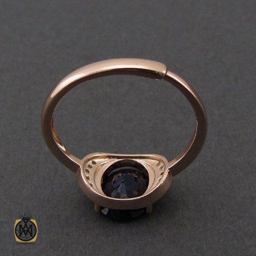 انگشتر یاقوت کبود خوش رنگ طرح غزاله زنانه - کد 2266 - 3 275 510x510