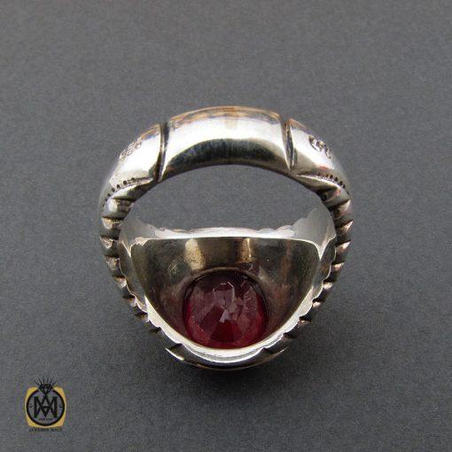 انگشتر یاقوت سرخ مردانه هنر دست استاد نامی – کد ۱۰۴۱۴