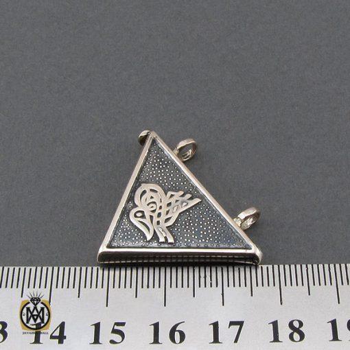 مدال جادعایی بازشو نقره طرح بسم الله - کد 3251 - 4 43 510x510
