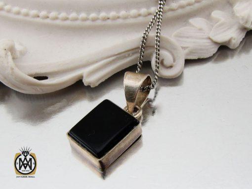مدال عقیق مشکی طرح اسپرت - کد 3271 - 00 242 510x383