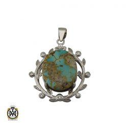 مدال فیروزه نیشابوری خوش طبع طرح آبتین اسپرت - کد 3257