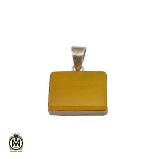 مدال عقیق زرد با حکاکی شرف الشمس اسپرت دست ساز - کد 3259 - 1 230 510x510