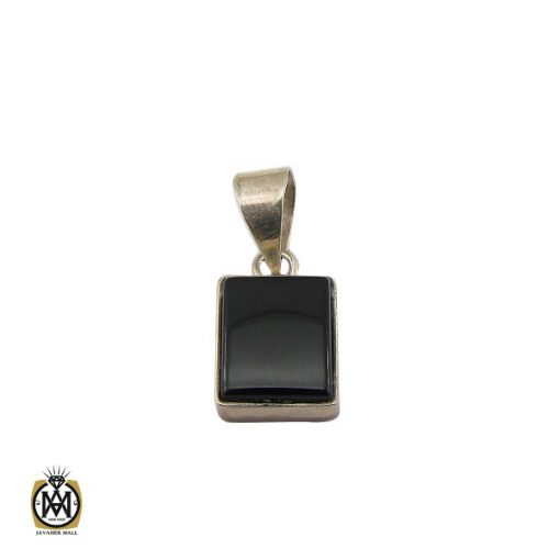 مدال عقیق مشکی طرح اسپرت - کد 3271 - 1 242 510x510