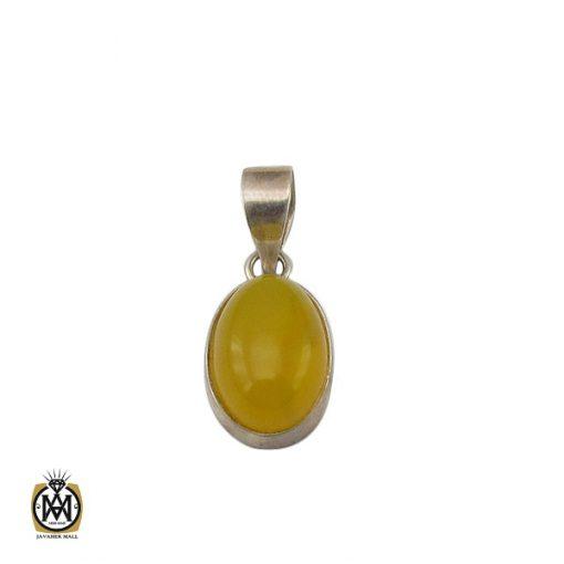 مدال عقیق زرد با حکاکی شرف الشمس طرح اسپرت - کد 3272 - 1 243 510x510