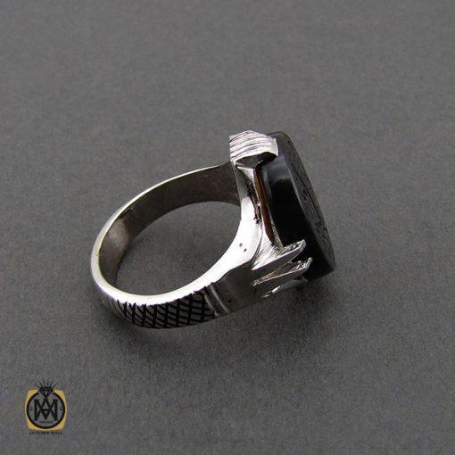 انگشتر یشم مرغوب با حکاکی یا فاطمه الزهرا مردانه – کد 10622