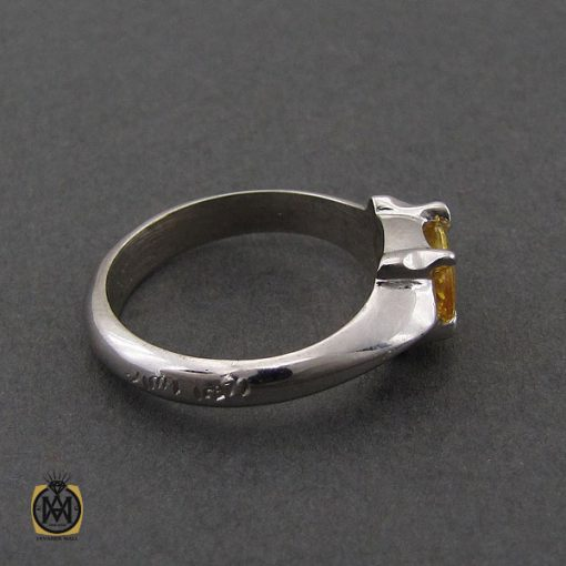 انگشتر یاقوت زرد اسپرت دست ساز - کد 10645 - 2 209 510x510