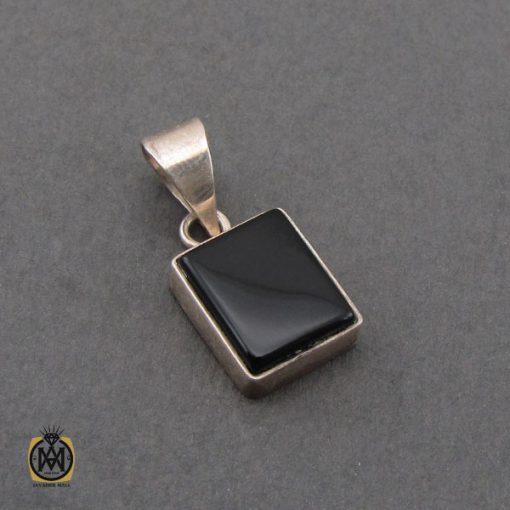 مدال عقیق مشکی طرح اسپرت - کد 3271 - 2 239 510x510