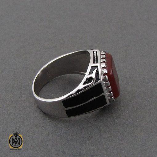 انگشتر عقیق قرمز مردانه – کد ۱۰۶۸۳