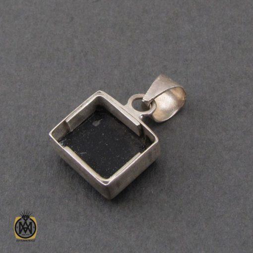 مدال عقیق سیاه با حکاکی یا امام رضا طرح اسپرت - کد 3266 - 3 233 510x510