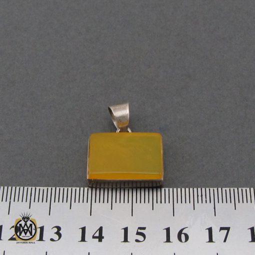 مدال عقیق زرد با حکاکی شرف الشمس اسپرت دست ساز - کد 3259 - 4 228 510x510