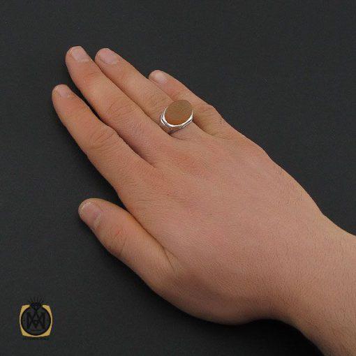 انگشتر عقیق یمن با حکاکی یا زینب مردانه – کد 10601 - 5 133 510x510