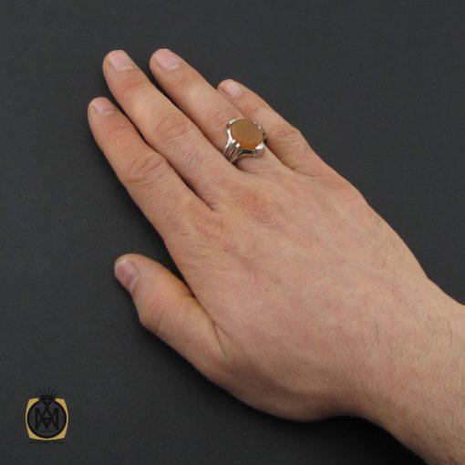 انگشتر عقیق یمن با حکاکی یا زهرا مردانه – کد 10607 - 5 141 510x510