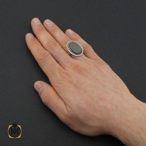 انگشتر یشم با حکاکی و من یتق الله مردانه – کد 10623 - 5 155 510x510