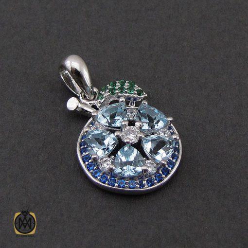 سرویس توپاز آبی طرح آوینا زنانه - کد 7221 - 5 200 510x510