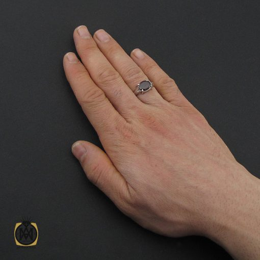 انگشتر گارنت اسپرت دست ساز - کد 10648 - 5 208 510x510