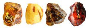 کهربا و خواص بی نظیر آن - amber colors 300x95