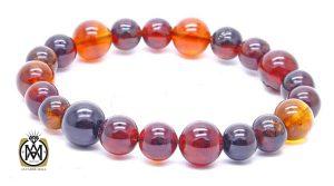 کهربا و خواص بی نظیر آن - bracelet burmese amber burmite 300x167