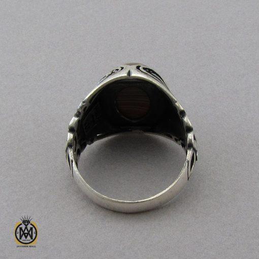 انگشتر عقیق سلیمانی مردانه- کد ۱۰۸۵۰