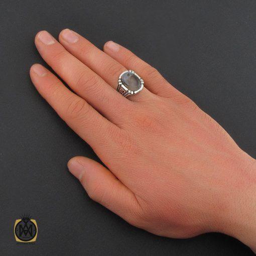 انگشتر عقیق شجر مردانه – کد ۱۰۸۵۲