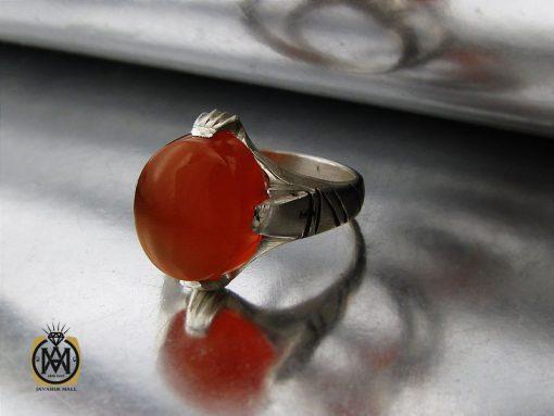 انگشتر عقیق یمن با حکاکی شرف الشمس مردانه – کد 10779 - 00 131 510x383