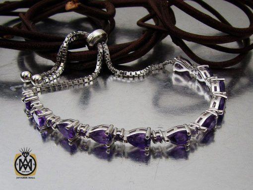 دستبند آمتیست طرح ژالین زنانه - کد 1096 - 00 144 510x383