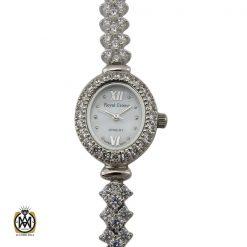 ساعت نقره زنانه رویال کرون – کد ۶۰۰۰