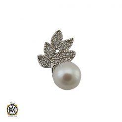 مدال زنانه مروارید نقره