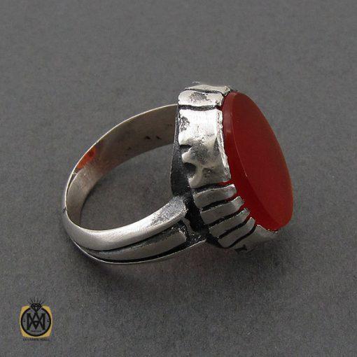 انگشتر عقیق قرمز مردانه – کد 10777 - 2 116 510x510
