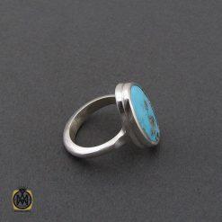 انگشتر نیشابوری خوش رنگ مردانه دست ساز – کد 10754 - 2 96 247x247