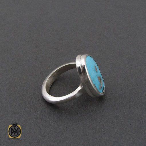 انگشتر نیشابوری خوش رنگ مردانه دست ساز – کد 10754 - 2 96 510x510