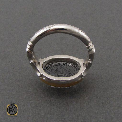 انگشتر در نجف با حکاکی الله و چهارده معصوم مردانه دست ساز – کد 10784 - 3 124 510x510
