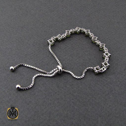 دستبند زبرجد طرح رسپینا زنانه -کد ۱۰۹۴