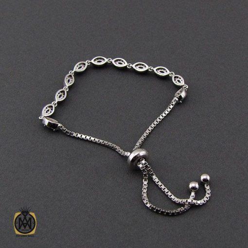 دستبند زمرد طرح سوگند زنانه -کد 1097 - 3 130 510x510
