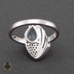 انگشتر توپاز زنانه نقره