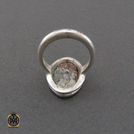 انگشتر نیشابوری خوش رنگ مردانه دست ساز – کد 10754 - 3 97 510x510