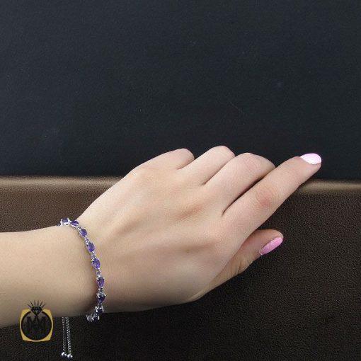 دستبند آمتیست طرح ژالین زنانه - کد 1096 - 4 117 510x510