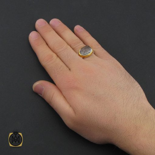 انگشتر در نجف با حکاکی الله و چهارده معصوم مردانه دست ساز – کد 10784 - 5 102 510x510